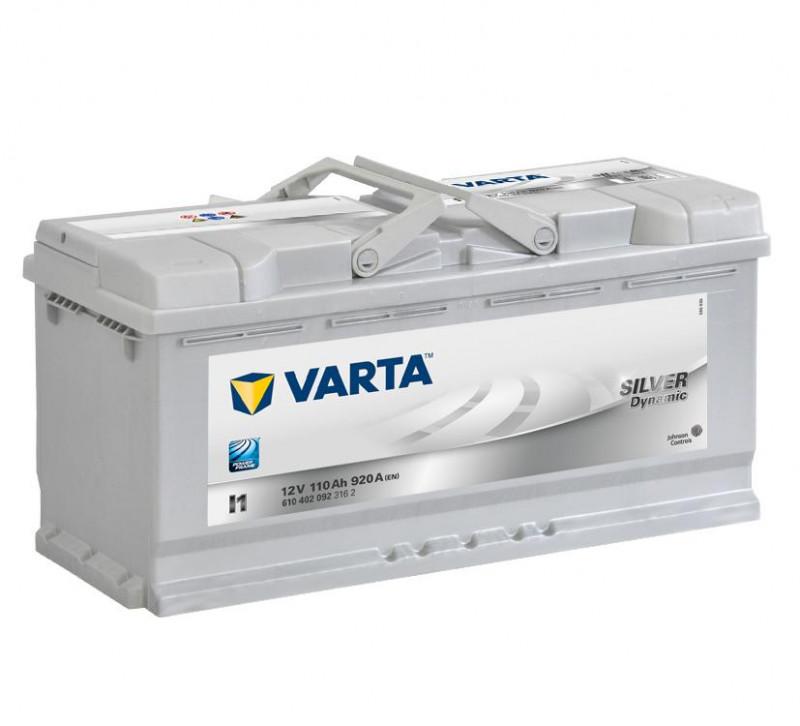 Autobaterie 110Ah Varta Silver Dynamic I1