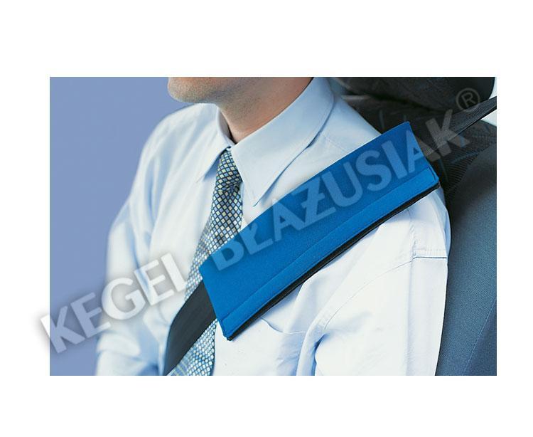 Potah na bezpečnostní pás modrý