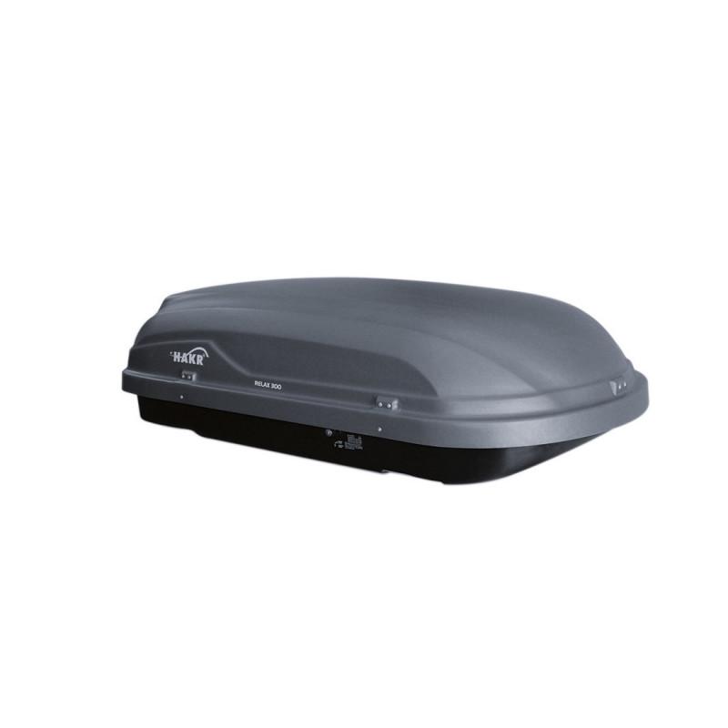 Střešní box Hakr Relax 300 (šedý)