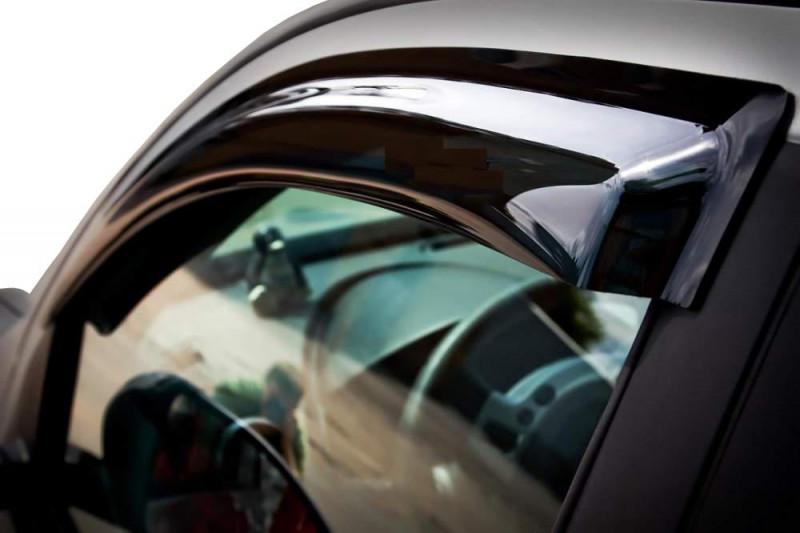Nalepovací ofuky oken Renault Fluence 2009- (4 dveře, 4 díly)