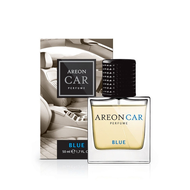 Luxusní parfém do auta Areon Blue (50ml, flakón)