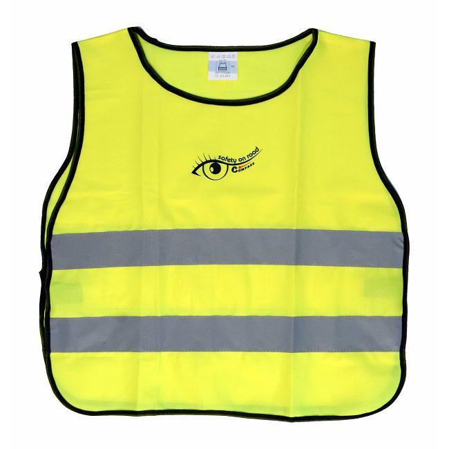 Reflexní vesta dětská - žlutá