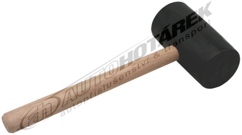 Gumová palice 1 kg (černá)