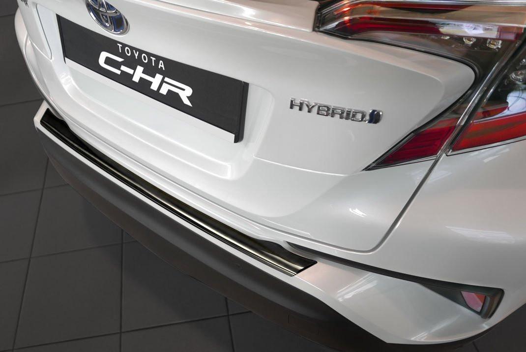 Ochranná lišta hrany kufru Toyota C-HR 2016- (tmavá)