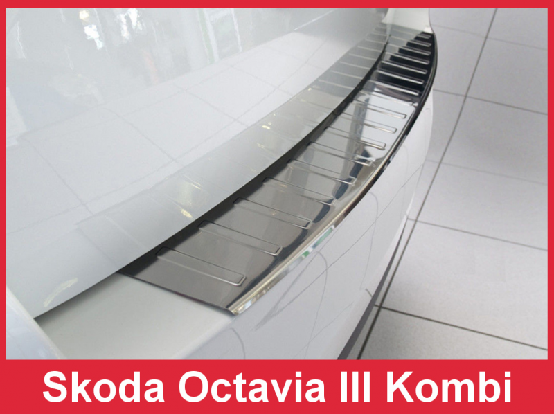 Ochranná lišta hrany kufru Škoda Octavia III. 2013-2016 (combi)