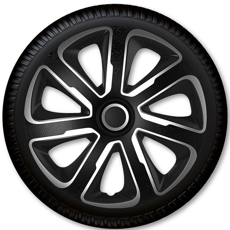 """Poklice Livorno Carbon Silver Black - 15"""""""
