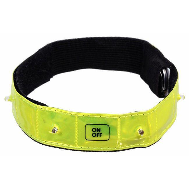 Reflexní páska - svítící (4x LED)