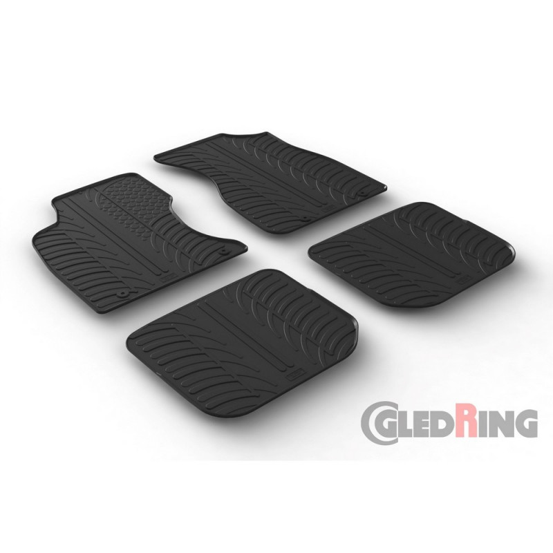 Gumové autokoberce Gledring Audi A4 1994-2000