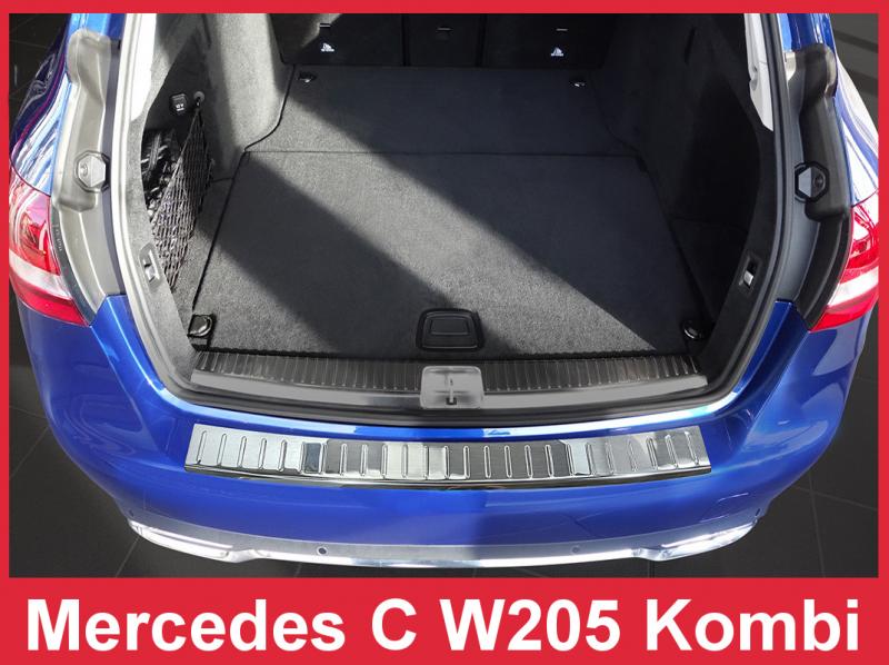 Ochranná lišta hrany kufru Mercedes C-Class 2014- (W205, combi)